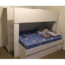 Single Over Double Bunk Bed Optional Trundle Quadruple Bunk Bed - Quadruple bunk beds