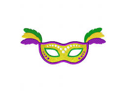 marti gras mask mardi gras mask yellow includes both applique and stitched