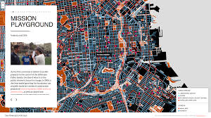 San Francisco City Map by San Francisco For Sale By Anti Eviction Mapping Project Using