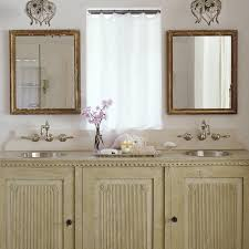 French Bathroom Fixtures French Dual Washstand With Gold Beaded Mirrors French U0027s Room