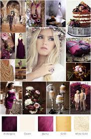 autumn eggplant plum gold inspiration board wedding pinterest