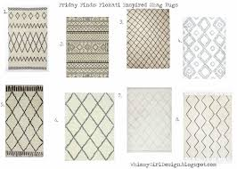 whimsy friday finds flokati inspired shag rugs