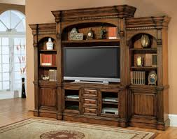 big screen tv cabinets dark brown wooden tv cabinet with doors and racks also drawers