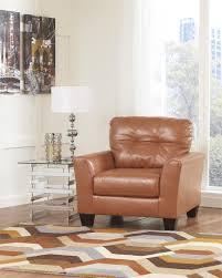Ashley Furniture Paulie Orange Cuddler Chair By Ashley Furniture