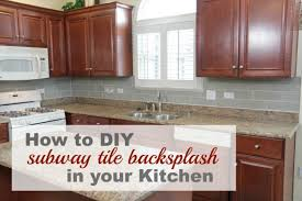 how to do backsplash in kitchen 8 diy tile kitchen backsplashes that are worth installing