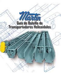 guía de bolsillo de transportadores helicoidales by martin