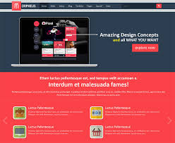 bootstrap themes header 25 responsive bootstrap 3 html website templates web graphic