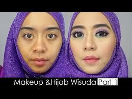 tutorial makeup natural wisuda tutorial makeup pemula dan hijab wisuda menggunakan bahasa jawa