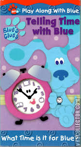 blue u0027s clues telling time with blue vhscollector com your
