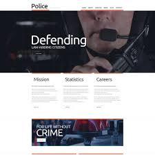 police templates templatemonster