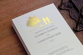 wedding invitations gold and white gallery the foil invite company