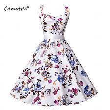 aliexpress com buy sale women floral print dresses 2017 retro