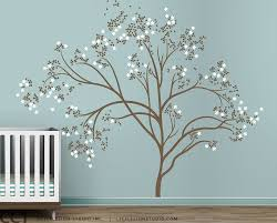 White Tree Wall Decal For Nursery by Wondrous Large Tree Decal 149 Large Tree Decals For Walls Vinyl
