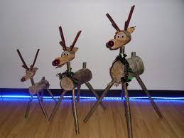 log reindeer christmas rustic reindeer log reindeer wooden reindeer in