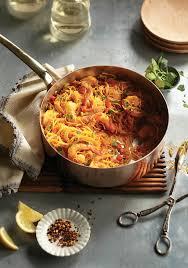 cuisiner vermicelle de riz vermicelles aux crevettes à l espagnole châtelaine