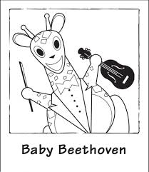 ba einstein coloring book page 1 for baby einstein coloring pages