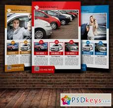 rent a car flyer template 221701 free download photoshop vector
