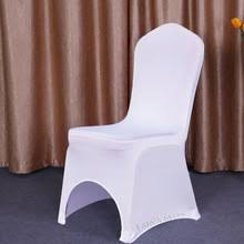 White Spandex Chair Covers Popular Stretch Chair Cover Buy Cheap Stretch Chair Cover Lots