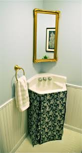 How To Make A Bathroom Sink Skirt by 40 Best Bathroom Images On Pinterest Bathroom Sink Skirt