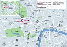 U Of A Campus Map Campus Map For The University Of Westminster On Behance