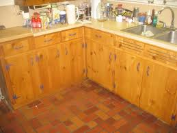 kitchen furniture kitchen rustic varnished teak wood kitchen