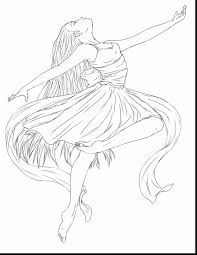 fabulous anime ballerina coloring pages with ballerina coloring