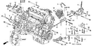 engine diagram honda civic engine wiring diagrams instruction
