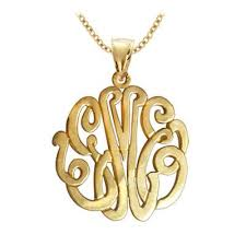 gold plated monogram necklace monogram gold plated jewelry monogram jewelry be monogrammed