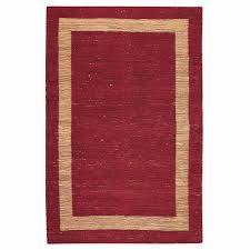 Area Rugs Home Decorators Home Decorators Collection Royale Chenille Natural 8 Ft X 11 Ft