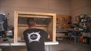 homemade gunsmith spray booth by hpfirearms youtube