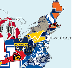 Massachusetts On The Map by Map Most Hated College Basketball Team In Every State Business
