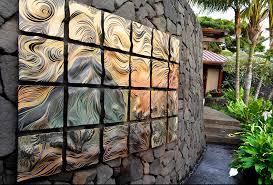 great garden wall tiles 4 ideas for choosing art for outdoors