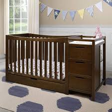 4 In 1 Convertible Crib With Changer Graco Remi 4 In 1 Convertible Crib And Changer In Espresso Free