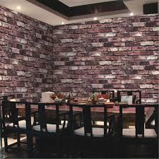 wallpaper design batu bata beibehang natural stone design brick wall wallpaper stone rock
