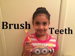 Little Girl Meme Teeth - how to brush your teeth properly for children kids girl toddlers