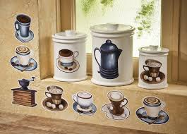 coffee kitchen canisters 24 best coffee themed kitchen images on kitchen ideas