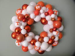 of tennessee volunteers ornament wreath 59 00 via