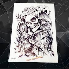 sand clock tattoo designs high quality clock tattoos promotion shop for high quality