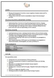 Mba Finance Experience Resume Samples by How To Write An Excellent Resume Sample Template Of An