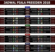 Jadwal Piala Presiden 2018 Jadwal Piala Presiden 2018 Taruhanbolasbobet