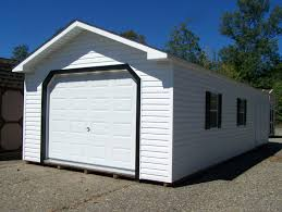 14x36 peak style garage located at hazleton drums pa pine