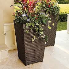 ideas for outside planters