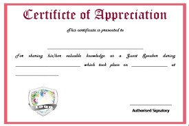 sample text for certificate of appreciation 12 genuine samples of certificate of appreciation for guest
