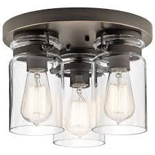 Bronze Ceiling Light Lamp Bronze Flush Mount Ceiling Light Lamp Shop Semi Lights At