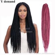senegalese twist hair brand 2018 18inch senegalese twist senegal box braid hair synthetic hair