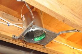 installing can lights in ceiling how to install new work recessed lighting installing recessed