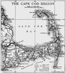brigham map of cape c s cape cod images pinterest