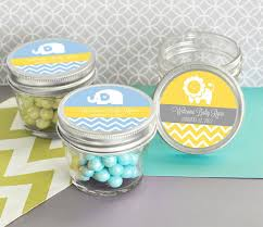 christening favor ideas boy baptism favors for boys personalized 4 oz jar for