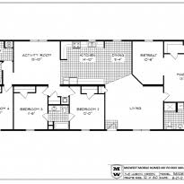 5 Bedroom Mobile Home Floor Plans Marvelous Double Wide Floor Plans With Photos Crtable