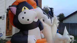giant inflatable spider halloween 2015 halloween inflatable display youtube